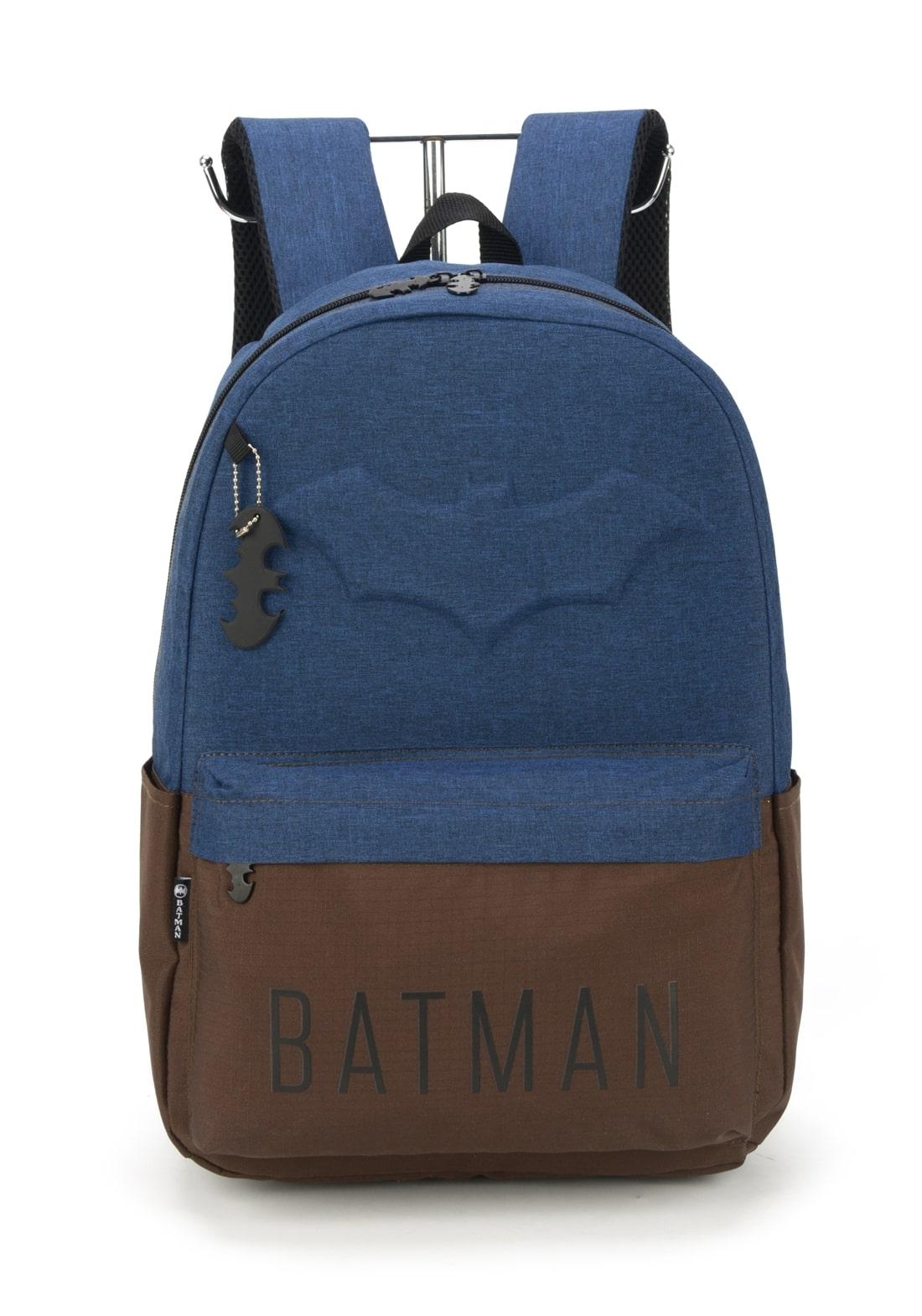 Mochila Batman Azul Marinho
