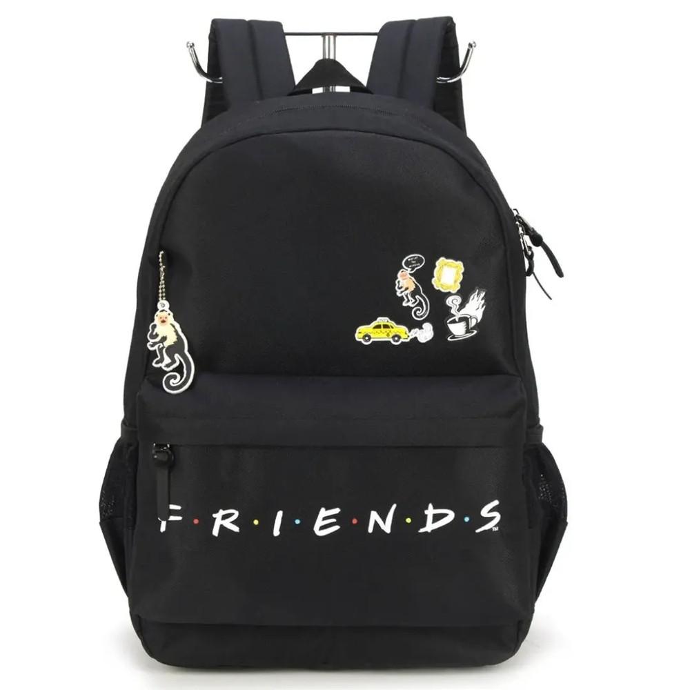 Mochila Friends Preta (MS46062FN0600)