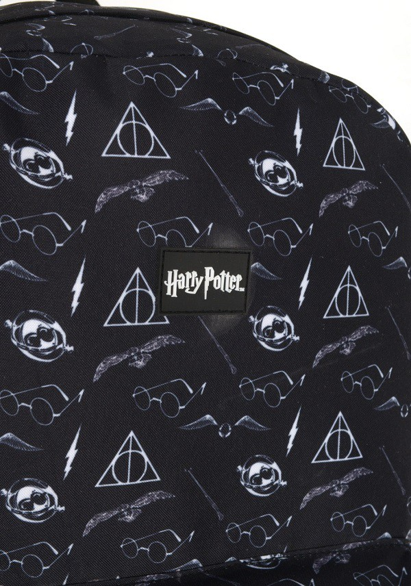 Mochila Harry Potter Cinza