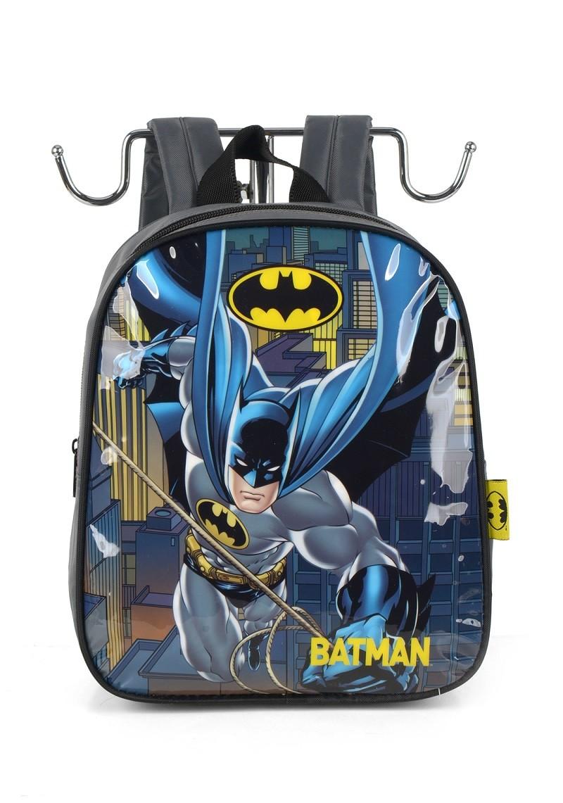 Mochila Infantil Batman Cinza