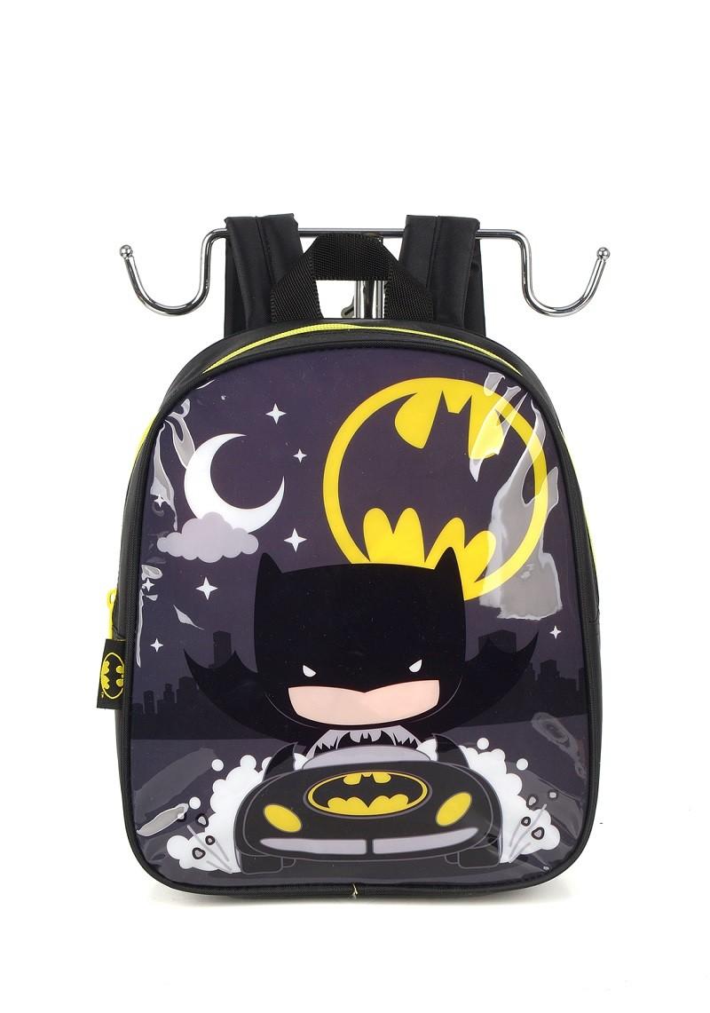 Mochila Infantil Batman Preta