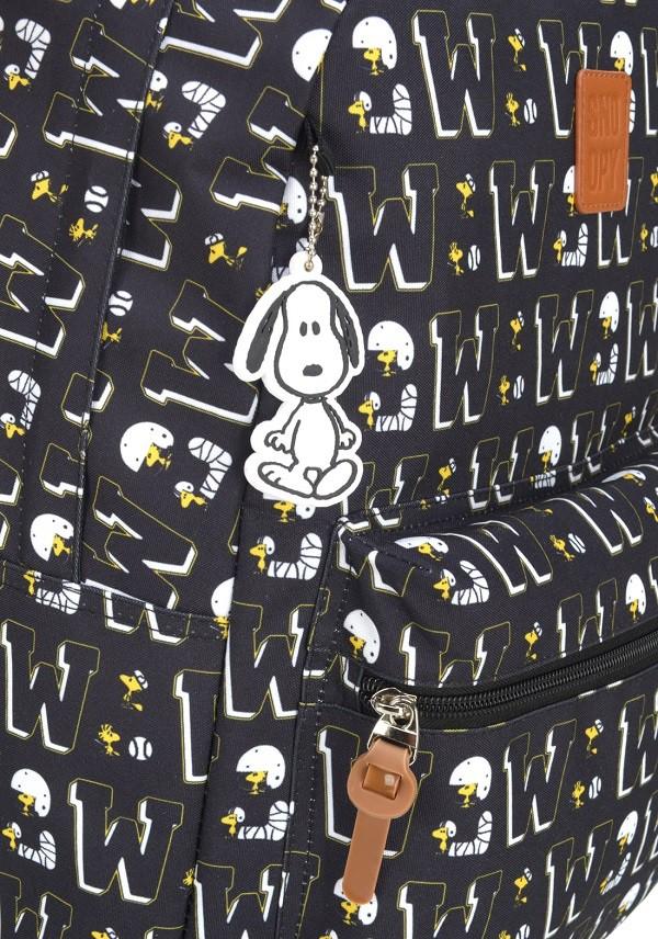 Mochila Snoopy Preta