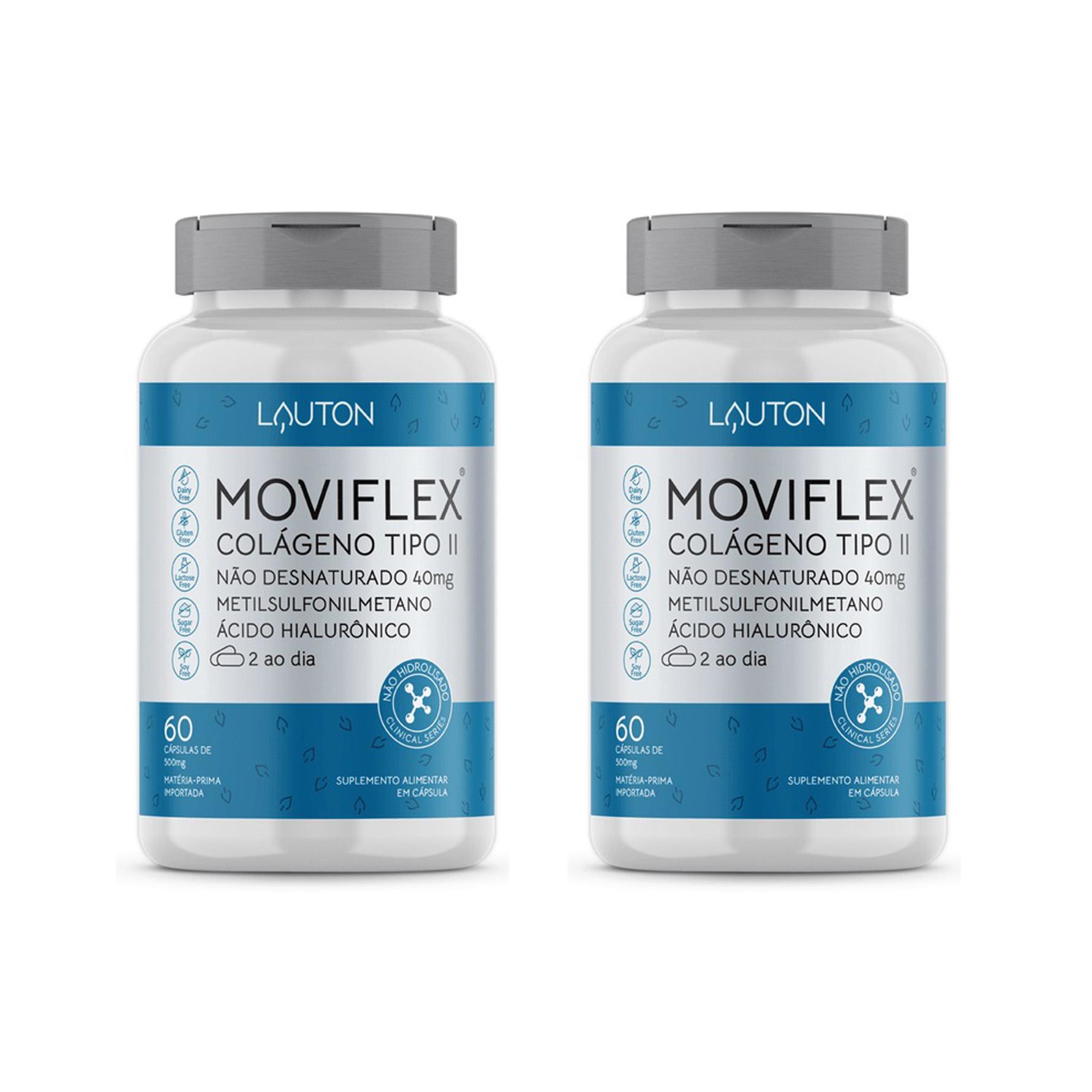 MOVIFLEX - Colágeno Tipo II - 60 Cápsulas - Lauton Nutrition (2 Unidades)