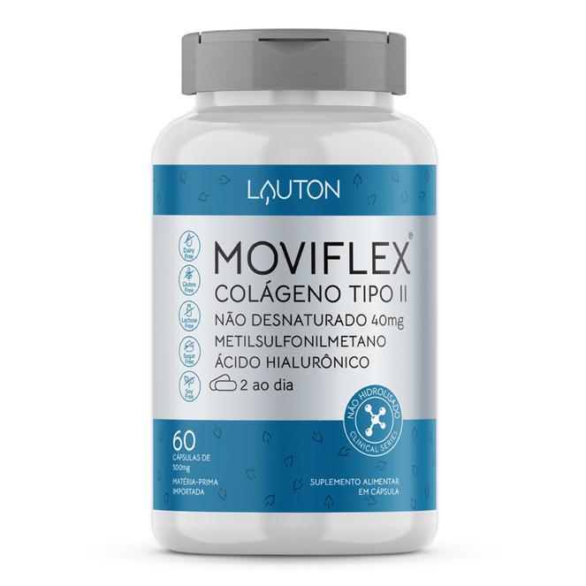MOVIFLEX - Colágeno Tipo II - 60 Cápsulas - Lauton Nutrition
