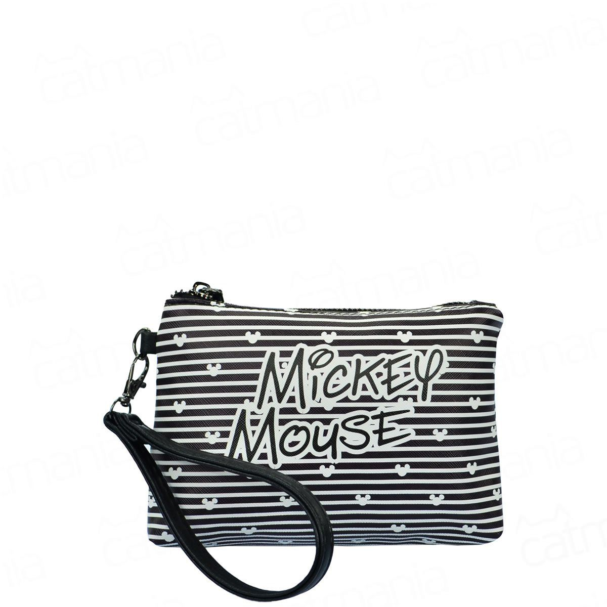 Necessaire Feminina Preta Mickey