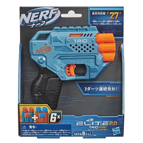 Nerf Elite 2.0 Lançador de Dardos Trio TD - 3 (E9957)
