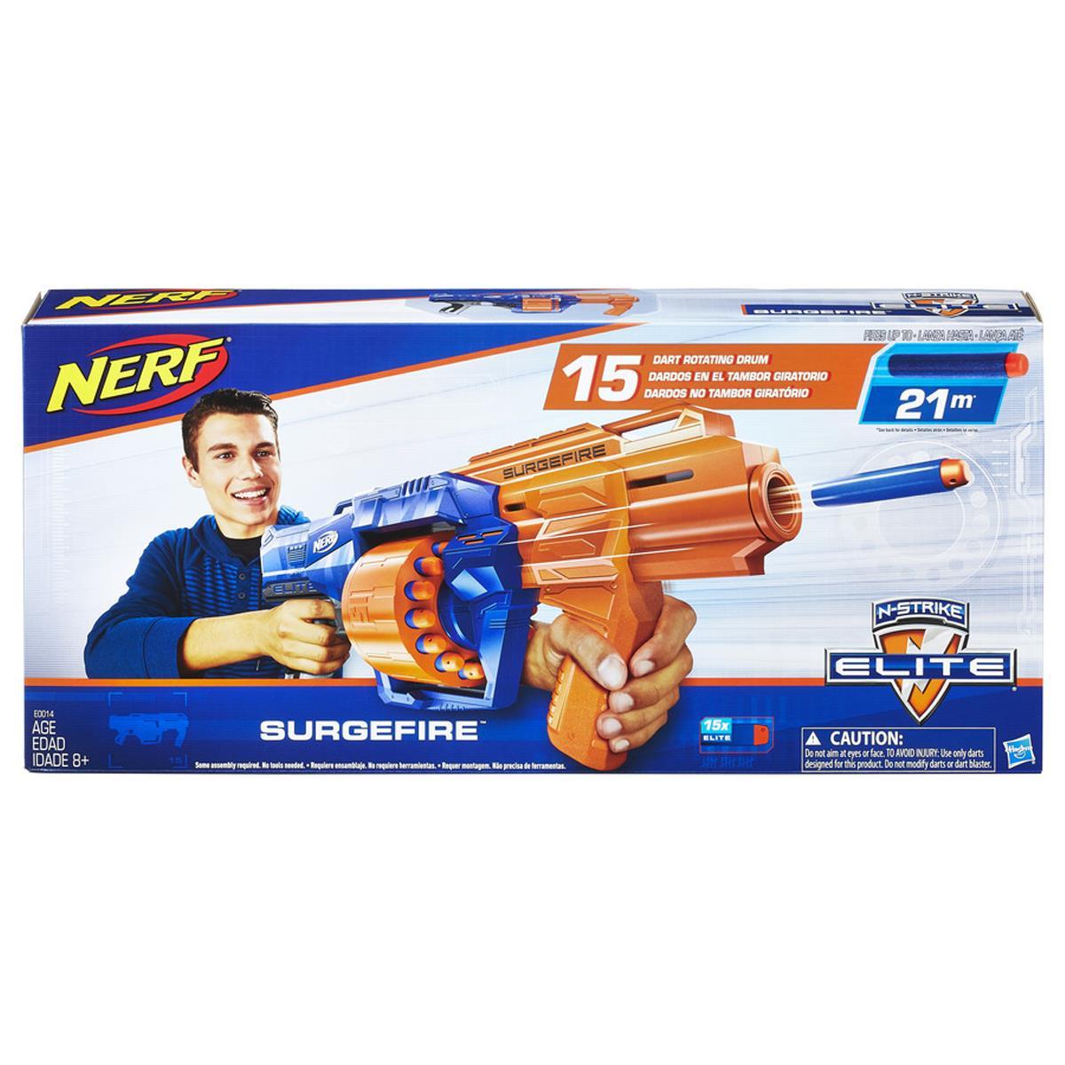 Nerf Elite Lançador de Dardos Surgefire (E0014)