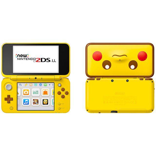 New Nintendo 2Ds XL - Edição Pikachu+ 50 Jogos 3D na Memória