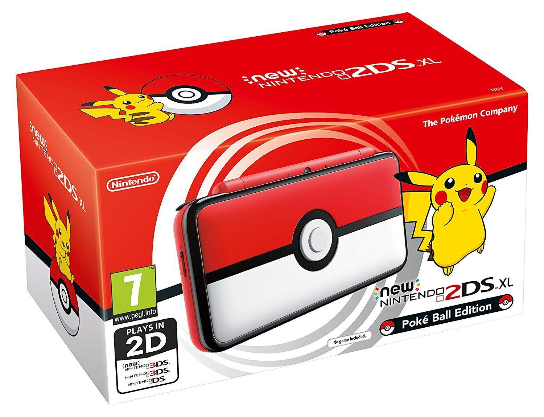 New Nintendo 2Ds XL - Edição Pokebola + 50 Jogos 3D na Memória