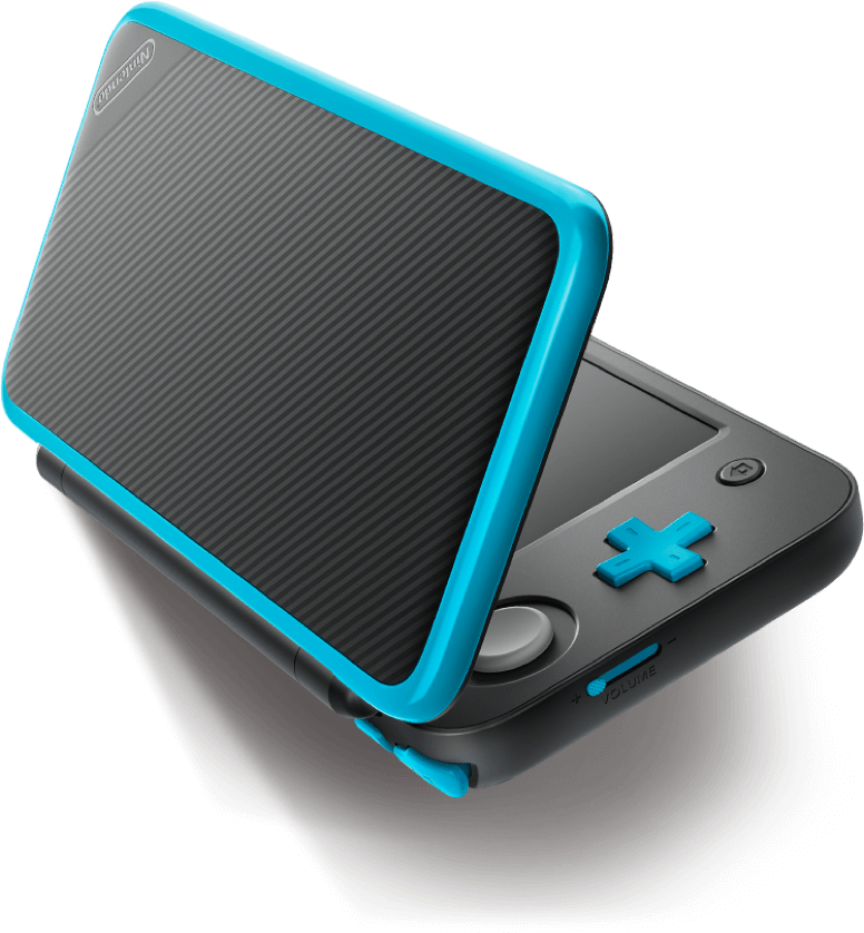 New Nintendo 2Ds XL - Preto e Azul