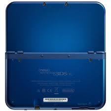 New Nintendo 3Ds XL Azul + Carregador Original Nintendo + 30 Jogos 3D na Memória