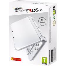 New Nintendo 3Ds XL Branco + Carregador Original Nintendo