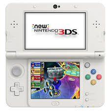 New Nintendo 3Ds XL Branco + Carregador Original Nintendo + 30 Jogos 3D na Memória