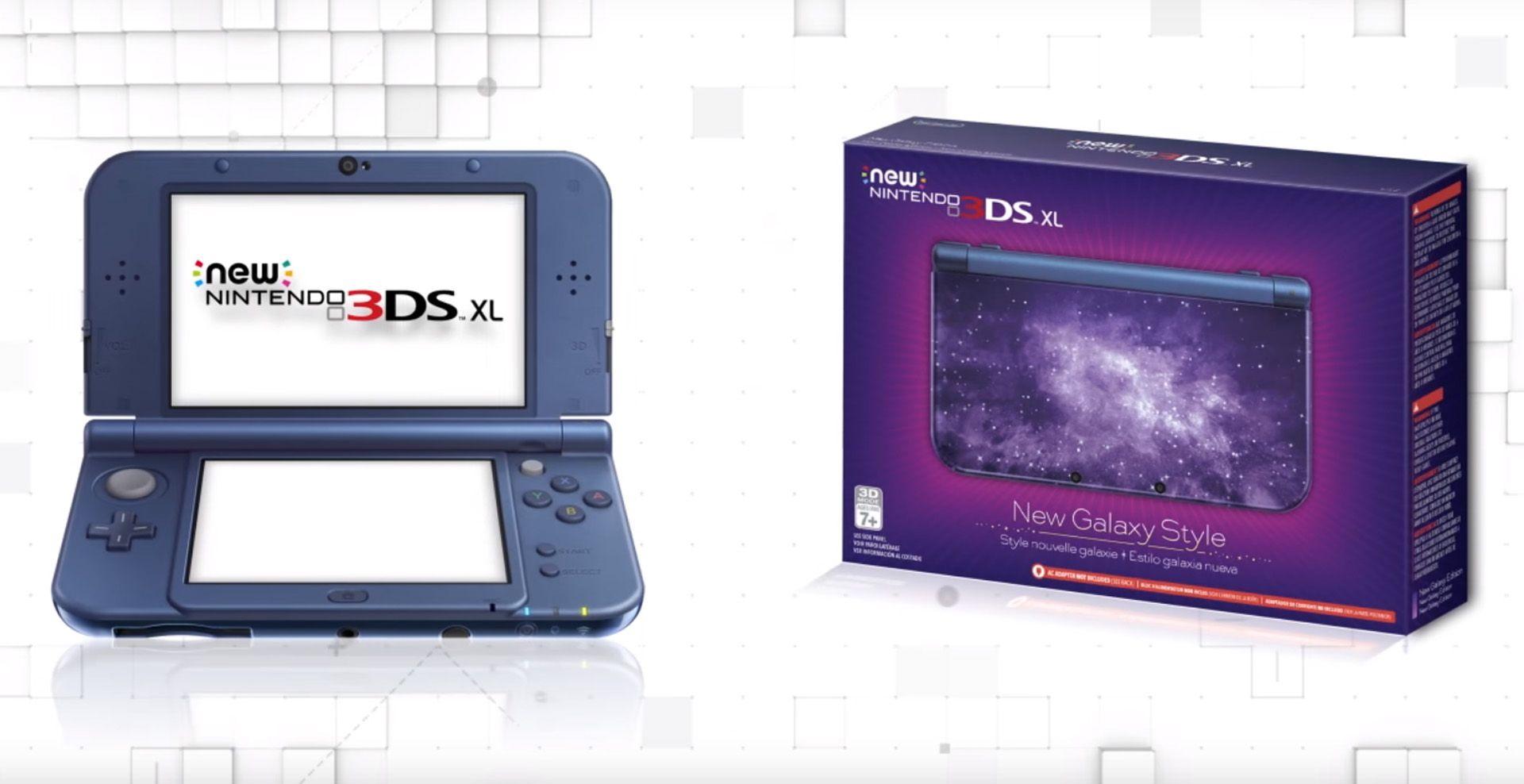 New Nintendo 3Ds XL Edição Galaxy + Carregador Original Nintendo