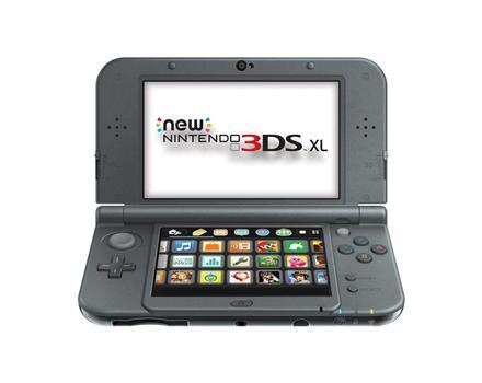 New Nintendo 3Ds XL Preto + Carregador Original Nintendo + 30 Jogos 3D na Memória