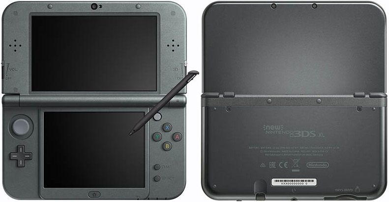 New Nintendo 3Ds XL Preto + Carregador Original Nintendo + R4 + 8Gb + 400 jogos