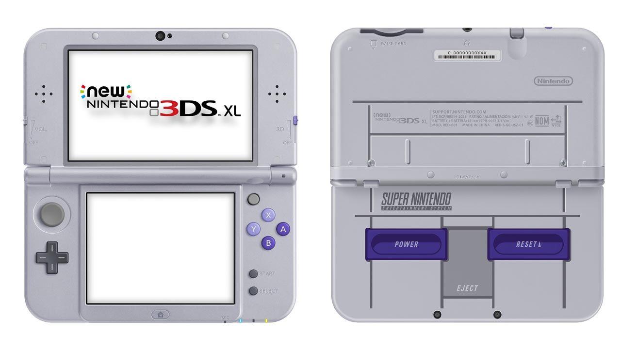 New Nintendo 3Ds XL Super Nintendo + Carregador Original Nintendo + 50 Jogos 3D na Memória