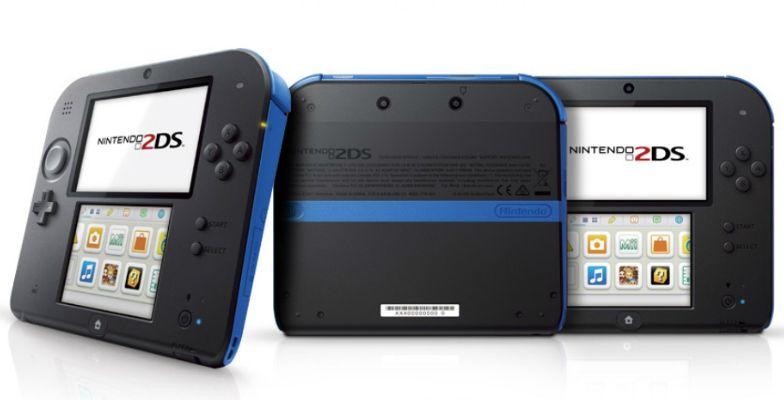 Nintendo 2Ds Azul + 50 Jogos 3D na Memória