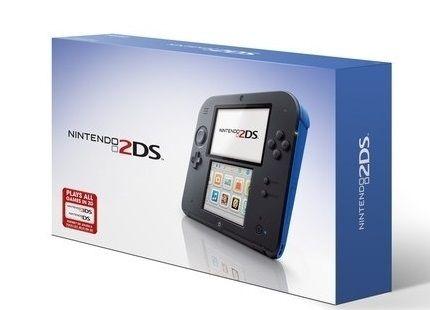Nintendo 2Ds Azul + R4 + 8Gb + 400 jogos