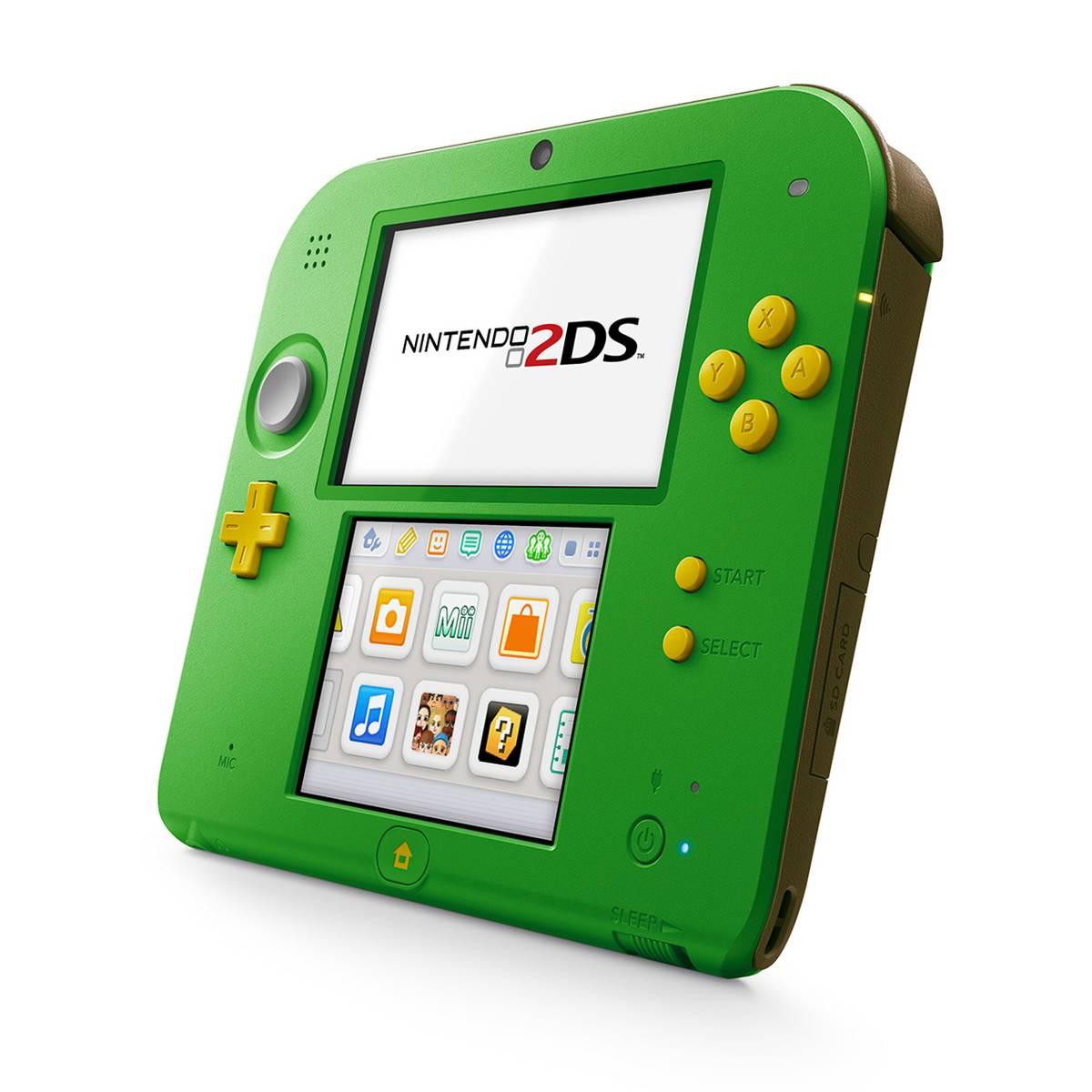 Nintendo 2Ds Verde + 50 Jogos 3D na Memória