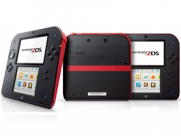 Nintendo 2Ds Vermelho + 30 Jogos 3D na Memória