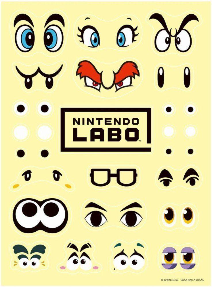 Nintendo Labo - Conjunto de Personalização