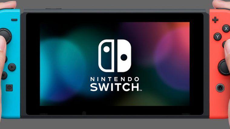 Nintendo Switch Azul e Vermelho Neon