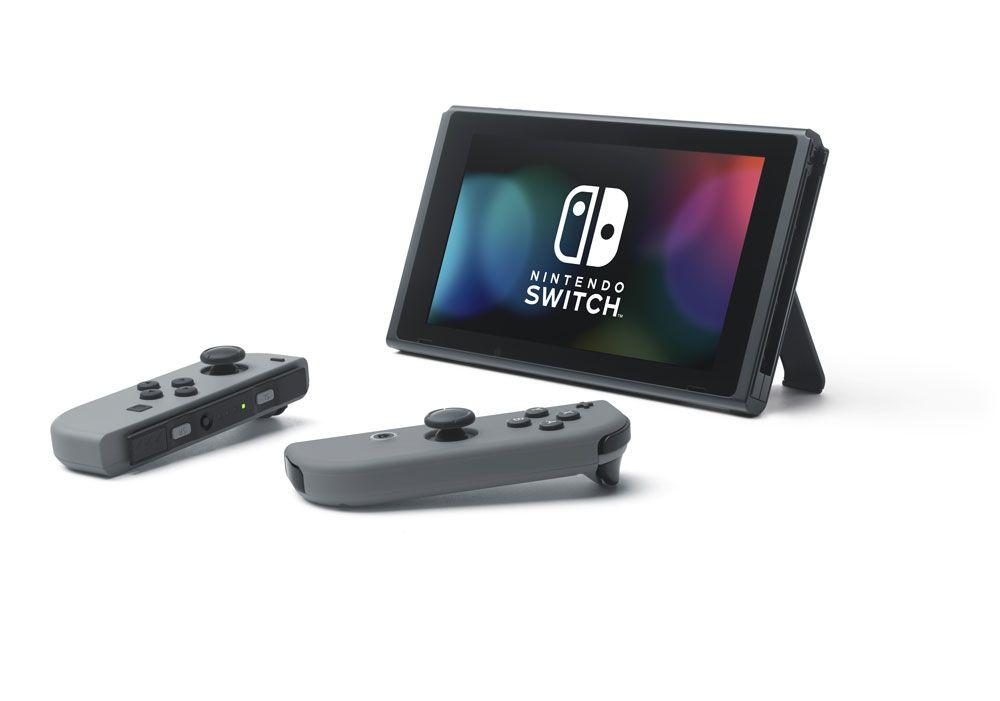 Nintendo Switch Cinza + 32 Jogos na Memória