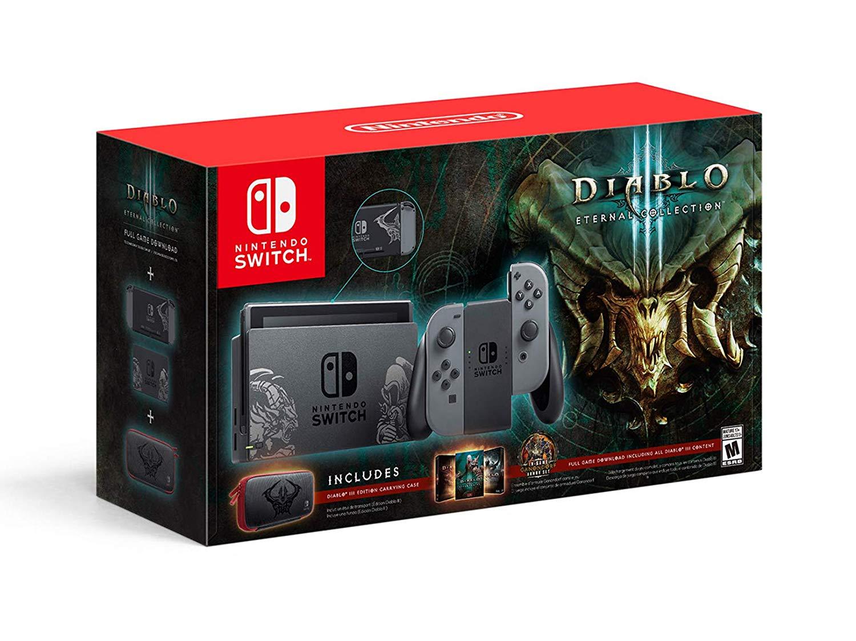 Nintendo Switch Edição Limitada Diablo