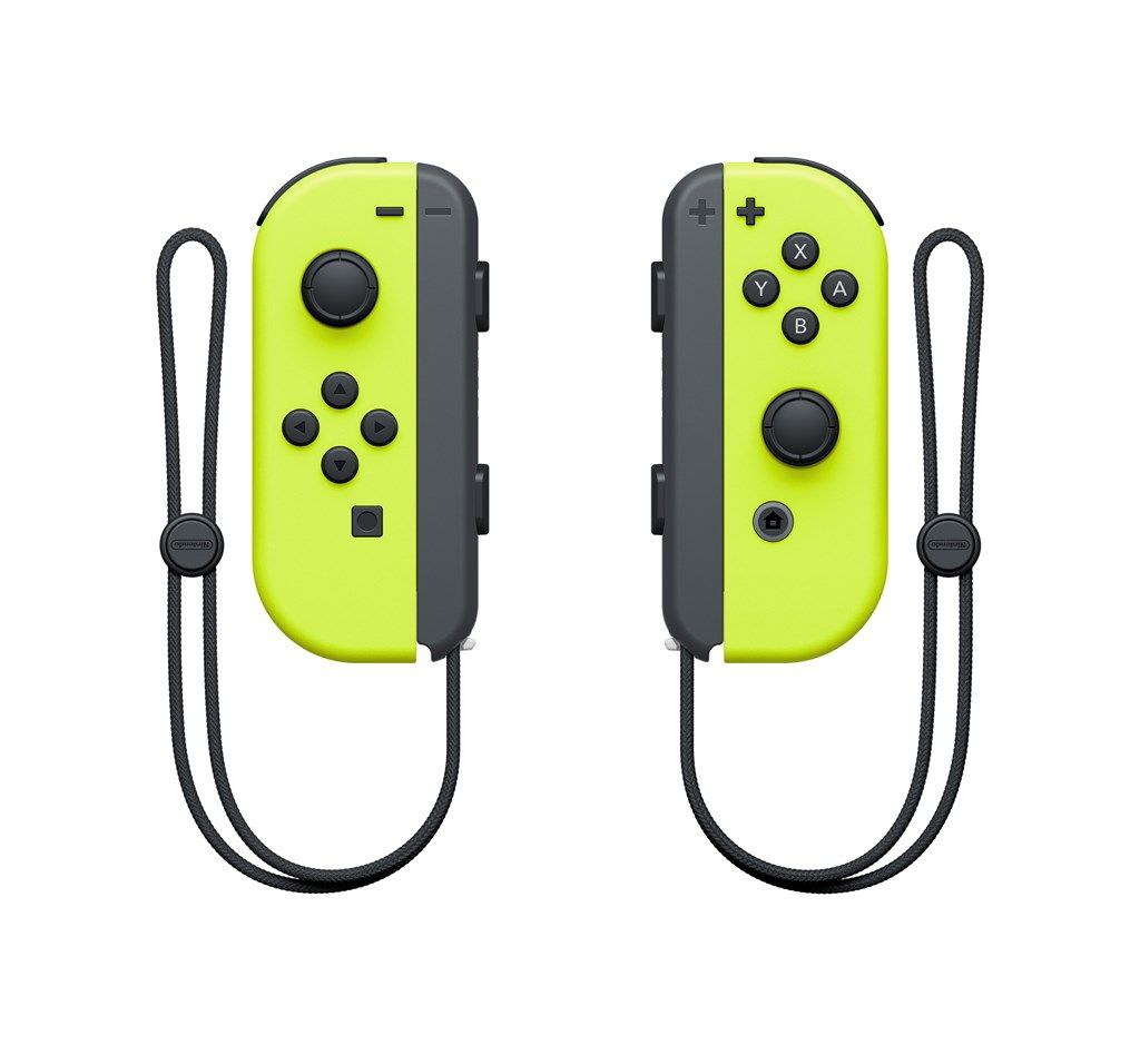 Nintendo Switch Joy-Con (L) e (R) - Amarelo