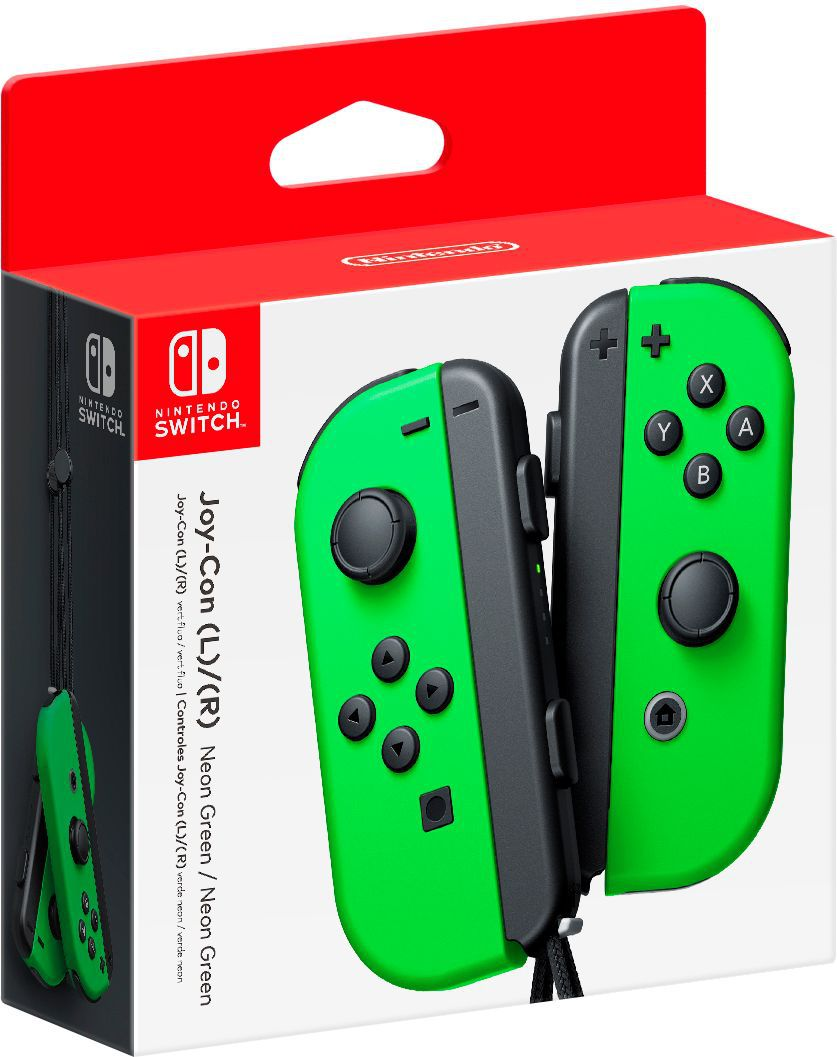 Nintendo Switch Joy-Con (L) e (R) - Verde