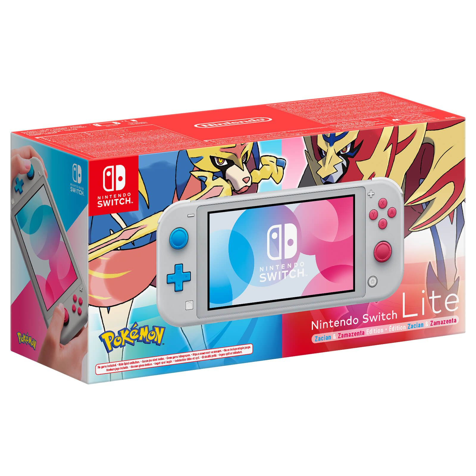 Nintendo Switch Lite Edição Pokemon - Cinza