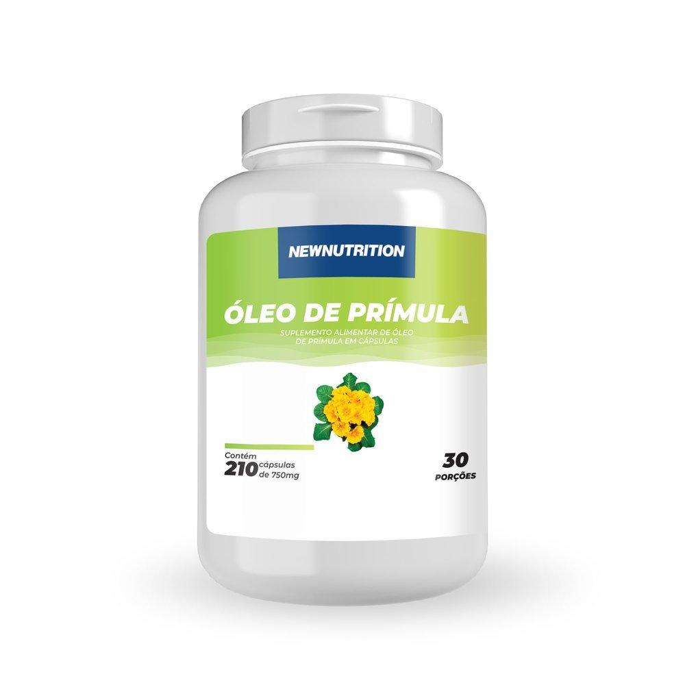 Óleo de Prímula 750mg - 210 Cápsulas