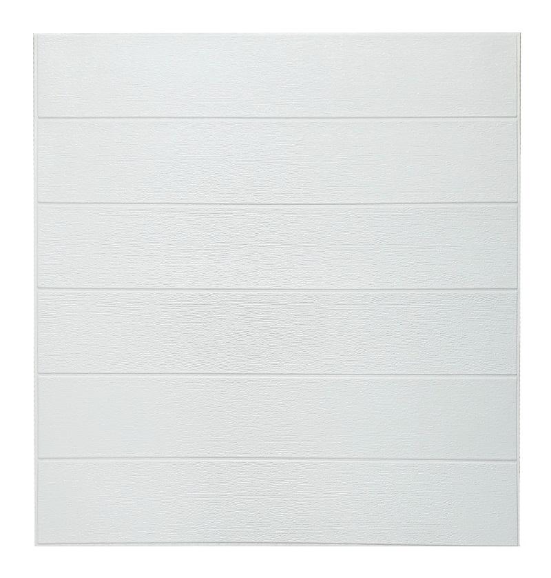 Painel Placa 3D Estilo Madeira Branca Espuma Adesiva 77 X 70 Parede
