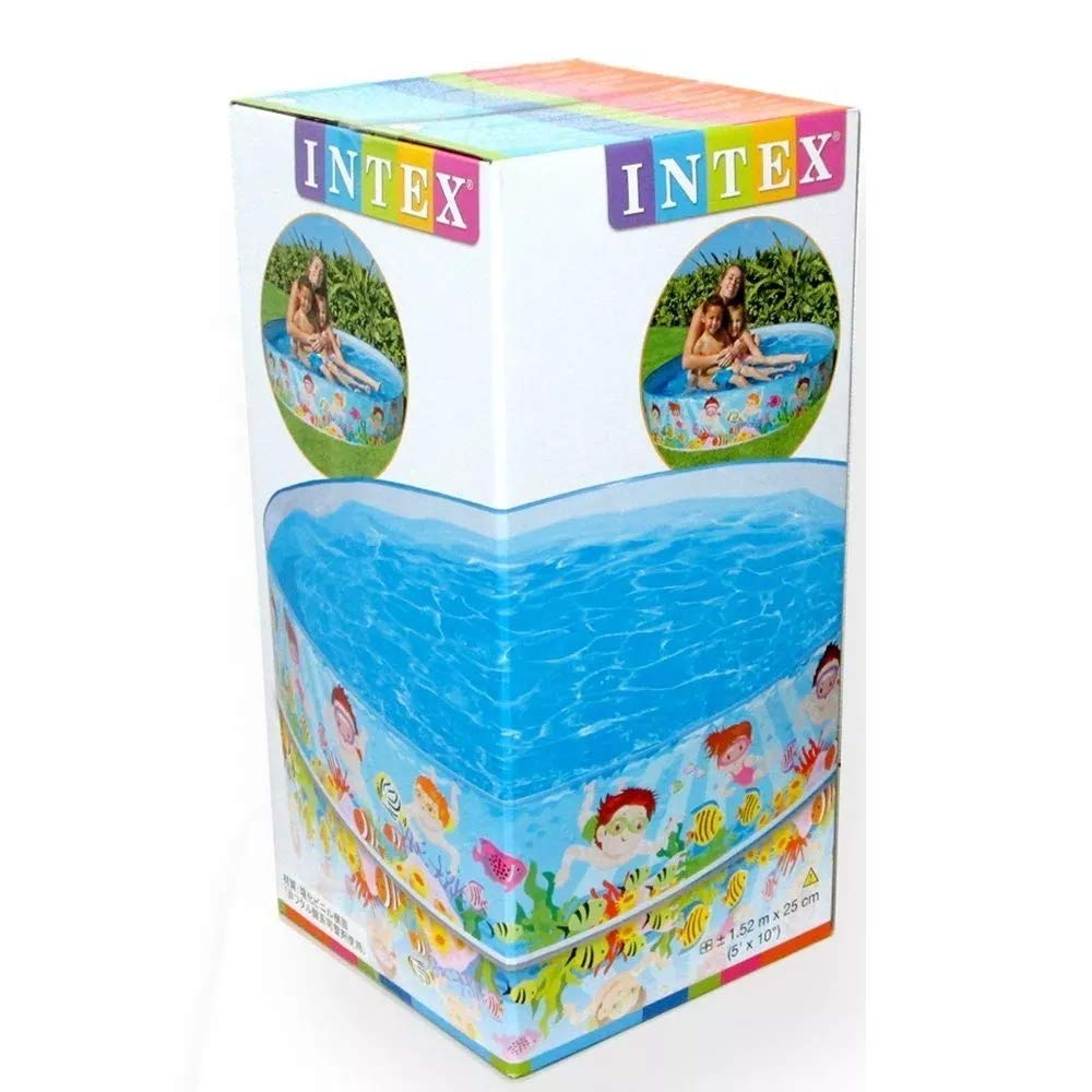 Piscina Infantil Snapset Oceano 958L - Intex
