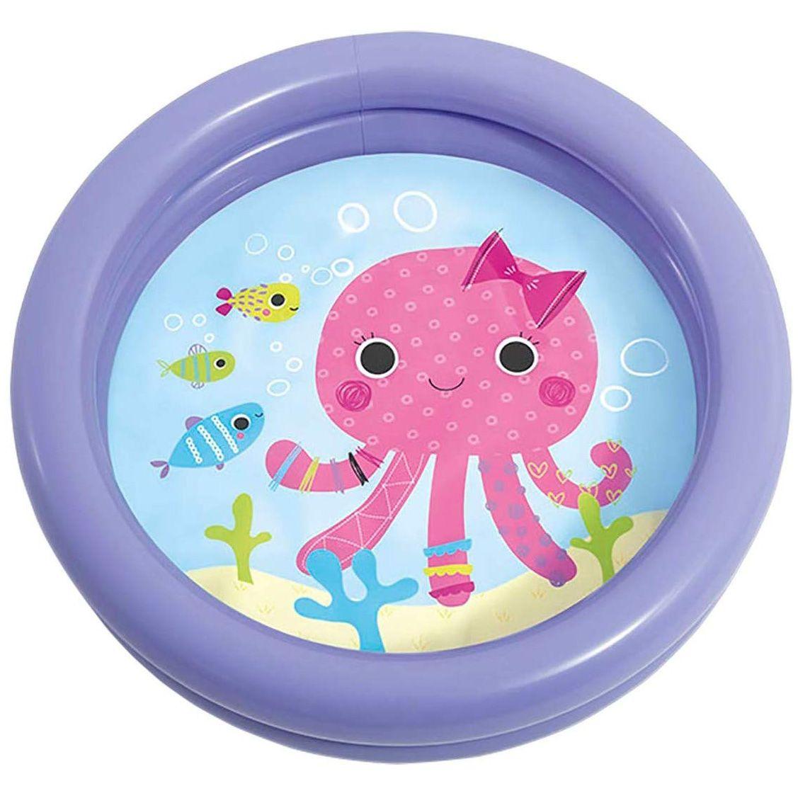 Piscina Inflável Infantil Minha Primeira Piscina 17 Litros - Intex (Roxa)
