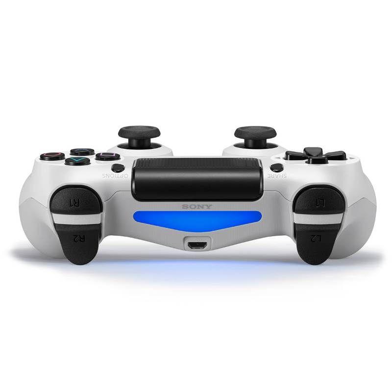 Playstation 4 - 1 Terabyte Slim Branco + Cabo HDMI + 15 Jogos PSN (2 Controles)