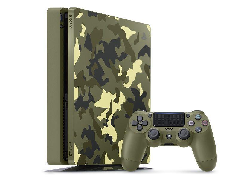 Playstation 4 - 1 Terabyte Slim Edição COD WWII + Cabo HDMI + 15 Jogos PSN