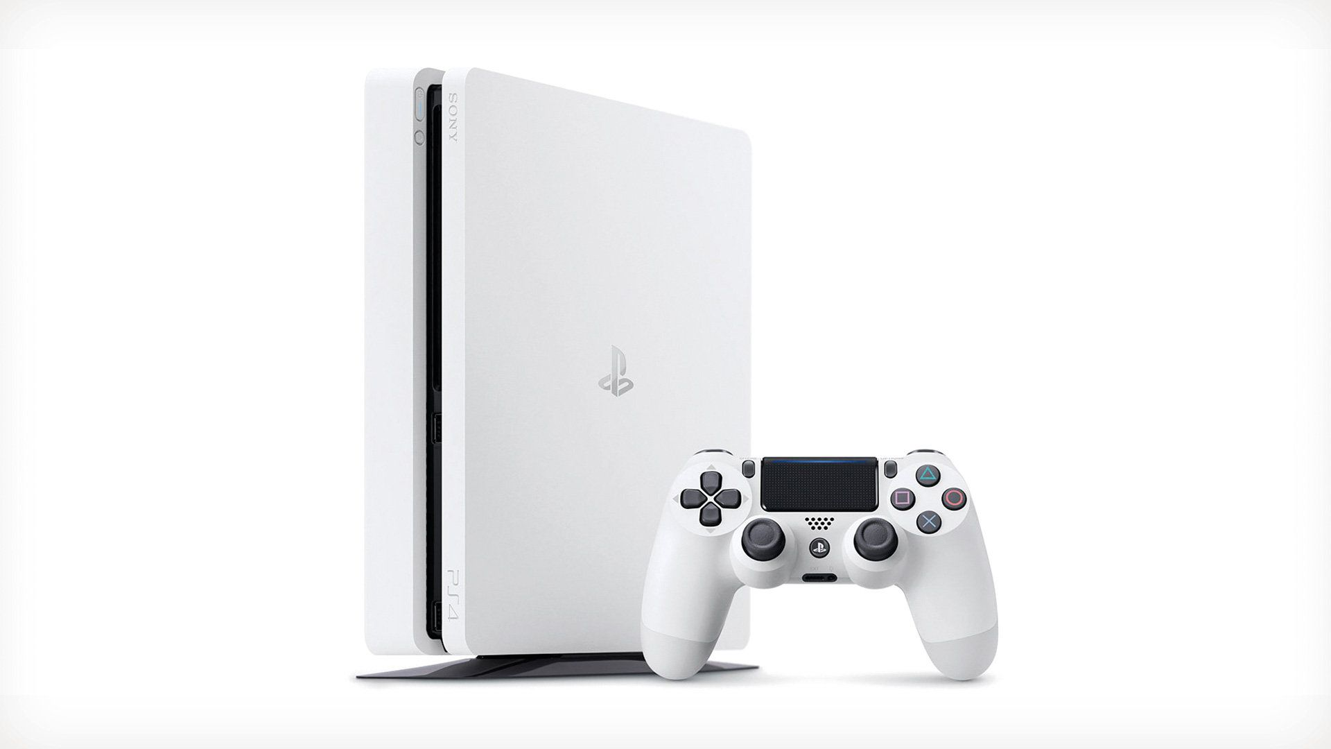 Playstation 4 - 500 Gb Branco + Cabo HDMI + 15 Jogos PSN (2 Controles)