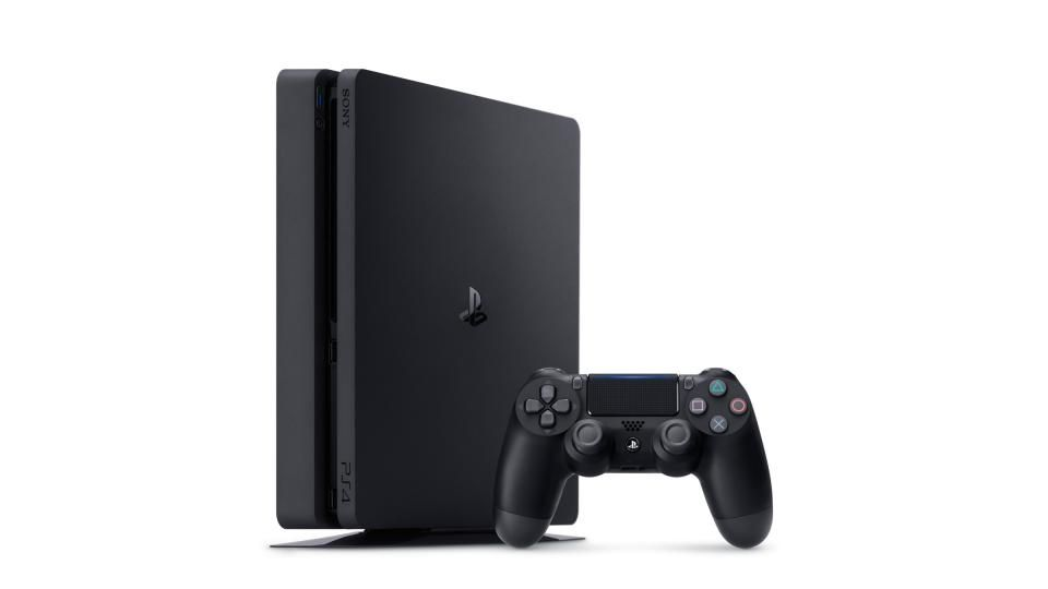 Playstation 4 - 500 Gb Slim + Cabo HDMI + 15 Jogos PSN (2 Controles)