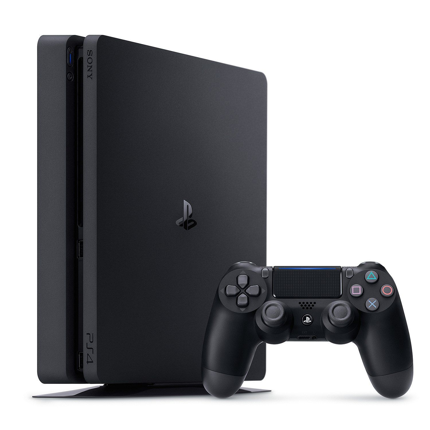 Playstation 4 Slim - 1 Terabyte + 4 Jogos (God of War + Gran Turismo + Uncharted 4 + Fifa 19)