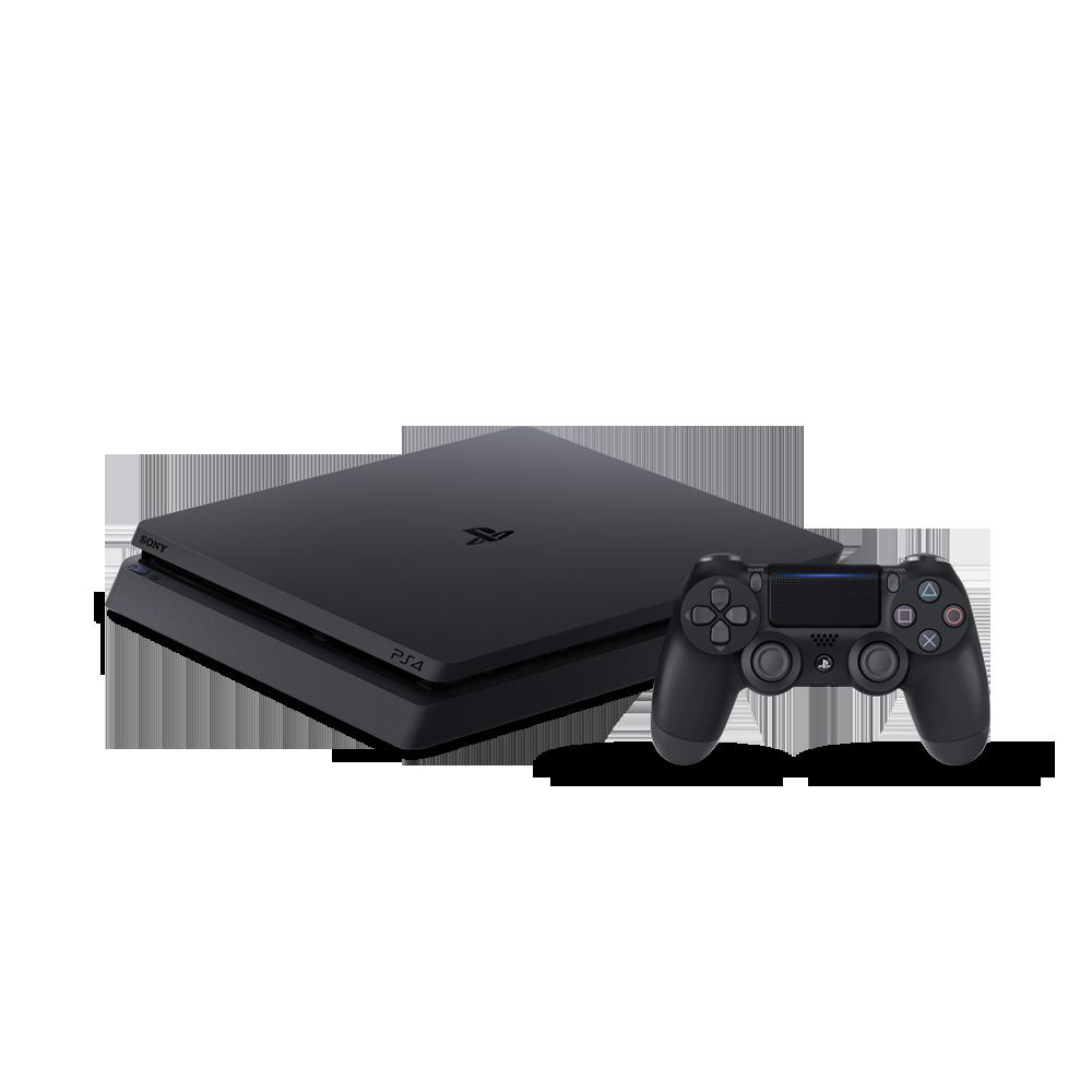Playstation 4 Slim - 500 Gb Slim + 3 Jogos (God of War + Horizon Zero Dawn + Shadow of Colossus) (2 Controles)