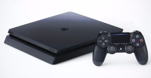 Playstation 4 Slim com HD de 2 Terabyte + Cabo HDMI + 15 Jogos PSN (2 Controles)