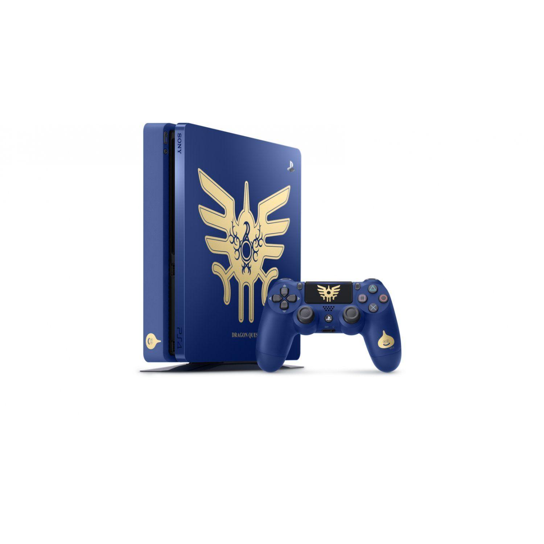 Playstation 4 - 1 Terabyte Slim Edição Limitada Dragon Quest + Cabo HDMI + 15 Jogos PSN