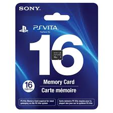 PlayStation Vita Memory Card - 16Gb