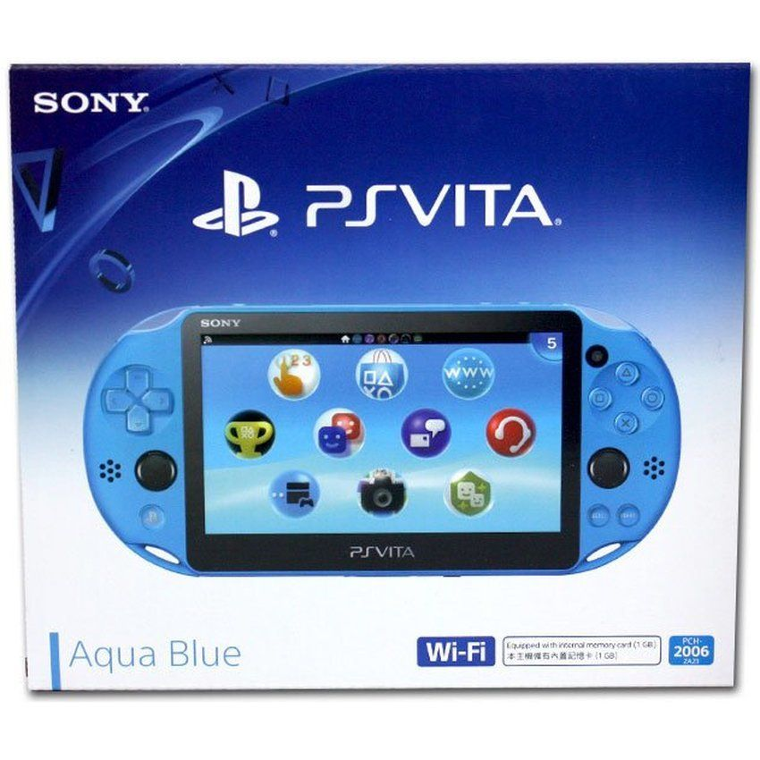 Playstation Vita Wifi Slim Azul + 16Gb