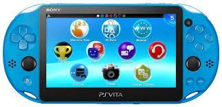 Playstation Vita Wifi Slim Azul + 64Gb + 30 Jogos na Memória