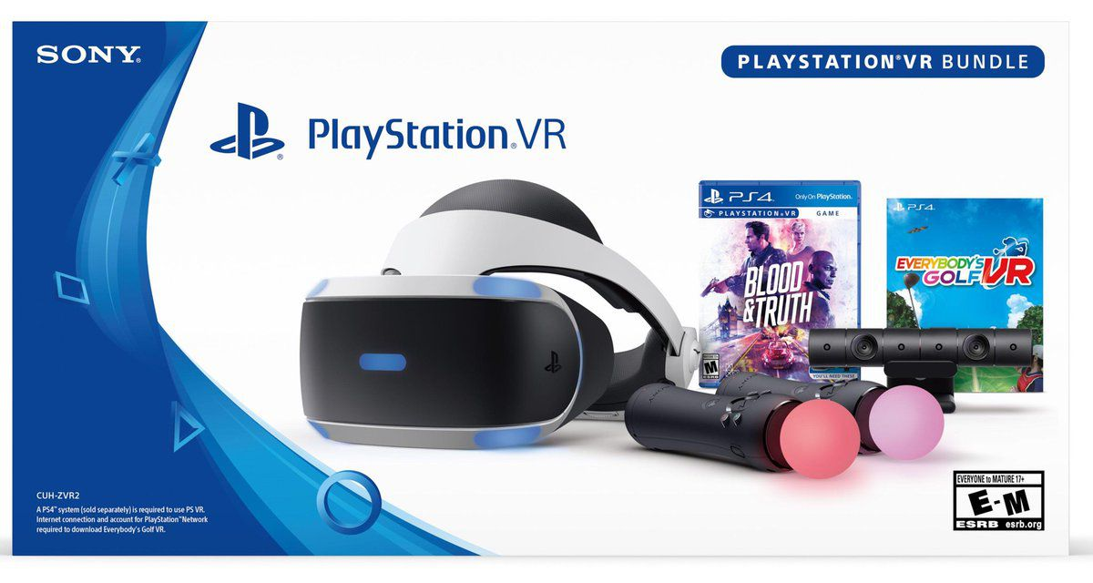 Playstation VR Bundle Blood & Truth + Everybody's Golf  - Playstation 4