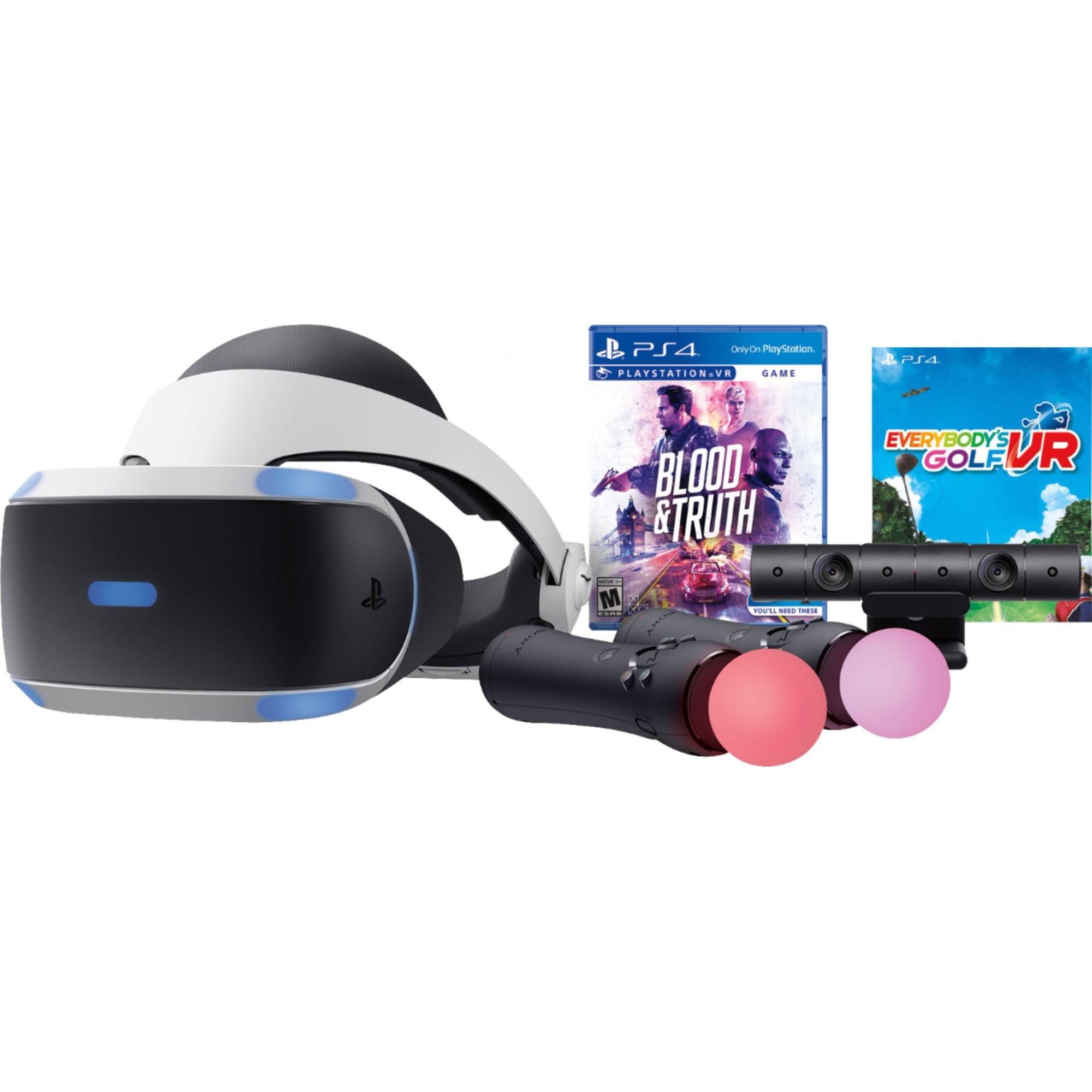 Playstation VR Bundle Blood & Truth + Everybody's Golf  - Playstation 4