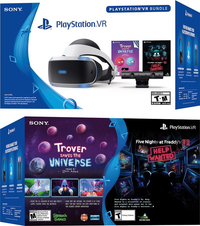 Playstation VR Kit Trover Saves the Universe + Five Nights at Freddy´s  - Playstation 4